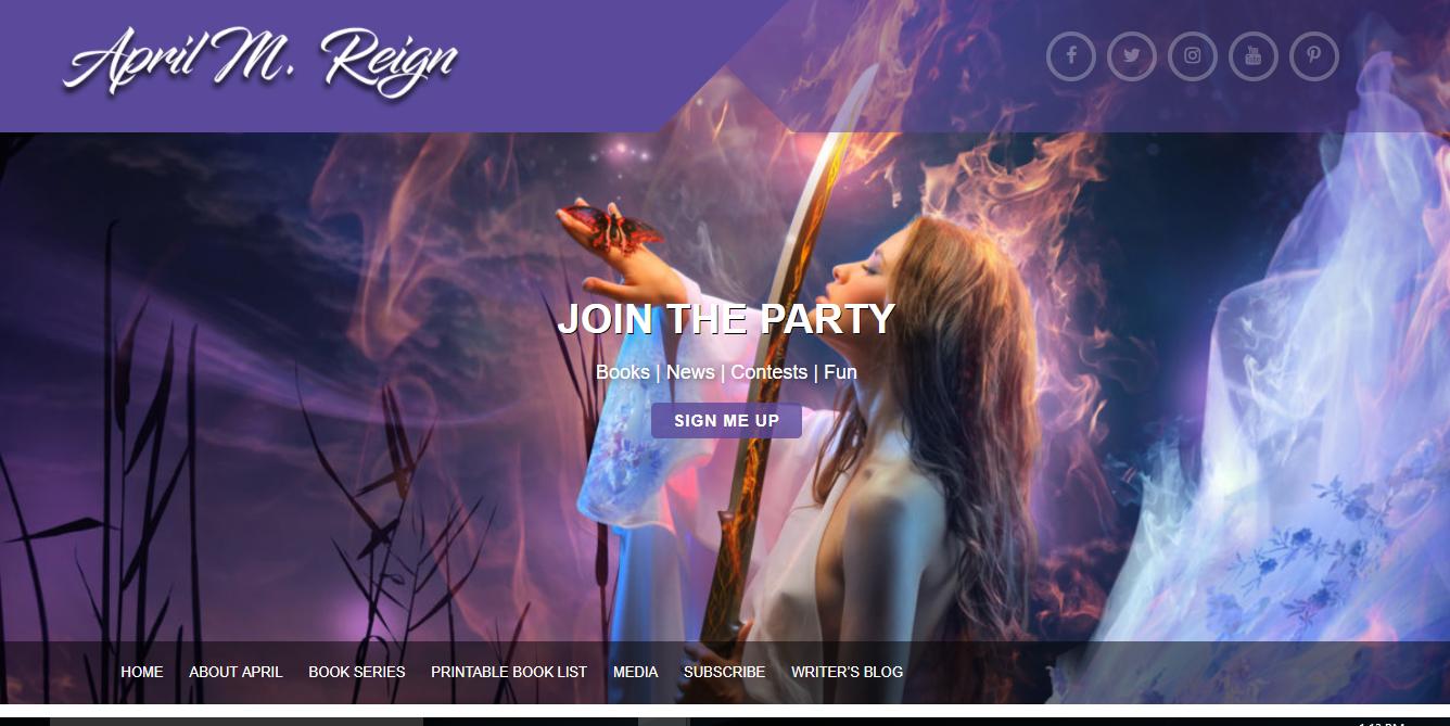 april m reign website